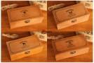 """Набор из 6 деревянных шкатулок """"Nostalgia"""" в стиле ретро"""