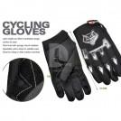 Пара защитных перчаток для занятий велоспортом