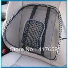 Массажер для кресла с поддержкой поясницы, цвет черный, 160г