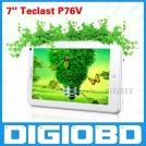 "Teclast P76V - планшетный компьютер, Android 4.0.3, TFT LCD 7"", 1GHz, 512MB RAM, 8GB ROM, Wi-Fi, 0.3MP фронтальная камера"