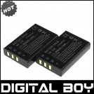 NP-120 - 2 аккумулятора Li-ion 2000 мАч для FUJIFILM FUJI Finepix F10 F11 603 M603 Zoom