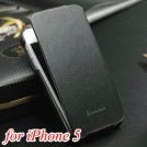 Кожаный винтажный чехол для iPhone 5 с подставкой и отделением для пластиковых карт, 2 вида