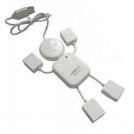 USB-хаб на 4 порта в форме куклы