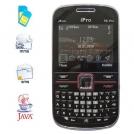 """I6 pro - мобильный телефон, 2.2"""" QCIF LCD, FM, MP3, QWERTY, 3 SIM"""