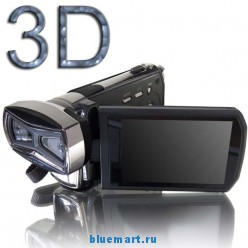Dinsen HD-D10 - цифровая 3D-камера, 12MP, 3.0