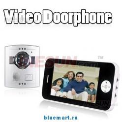 Дверной видео-телефон – TFT-дисплей 7 дюймов, 960x234 пикселя, камера с функцией ночного видения