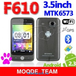 F610 - смартфон, Android 2.3.6, MTK6573 (650MHz), 3.5