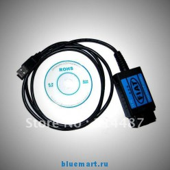 Интерфейс для диагностики автомобилей Fiat , стандарт OBD2