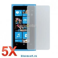 Защитная пленка для Nokia Lumia 800, 5 шт