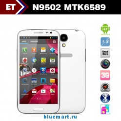 Changjiang N9502 - смартфон, Android 4.2, MTK6589T, Quad Core 1.2GHz, 5.0