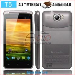 Titan II T5 - смартфон, Android 4.0.4, MTK6577 (2x1.2GHz), qHD 4.7