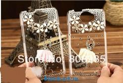 Пластиковый чехол 3D со стразами для HTC One X,retail + защитная пленка