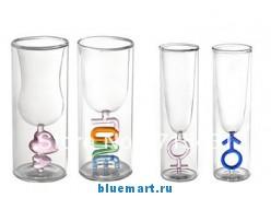 Парные винные/пивные бокалы