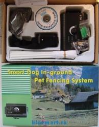 Электронный ошейник для ограничения передвижения собак
