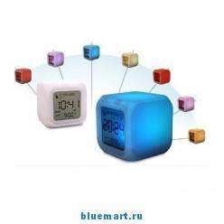 Светящийся цифровой будильник