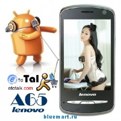 Lenovo A65 - смартфон, Android 2.3, 3.5