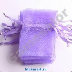 Подарочная упаковка мешочек 5*7 см, 50 штук