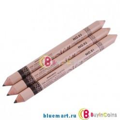 Двусторонний карандаш для бровей