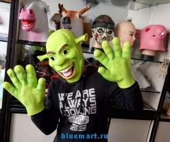 Карнавальная маска и перчатки