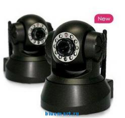 ELE-IPC101 - цифровая IP-камера наблюдения, wi-fi (WPA Internet IP camera) с ночным видением