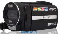 Ordro HDV-VD2 - цифровая 3D-камера, HD 1080P, 16MP, 3.2