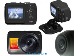 Цифровая камера (видео-регистратор) RH22, HD 1080P, 5MP, 1.5