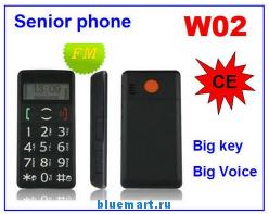 Anycool W02 - мобильный телефон, 1.8