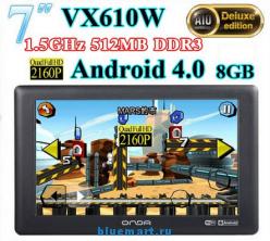 Onda VX610W - планшетный компьютер, Android 4.0, 7