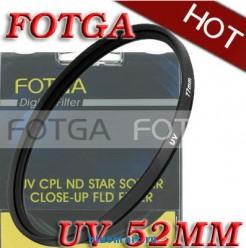 УФ-HAZE защитный фильтр Fotga 52mm для камер Canon/Nikon/Sony/Olympus
