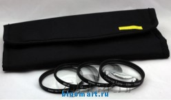Макро-фильтры (крупно-плановые) TIANYA 58mm (4 штуки)