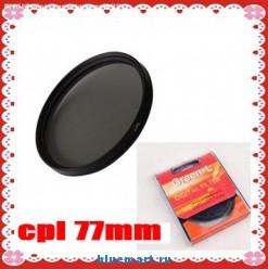 Циркулярно-поляризационный фильтр (C-PL PL-CIR CPL) Green-L 77mm
