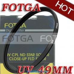 УФ-HAZE защитный фильтр Fotga 49mm для камер Sony18-55/NEX3/NEX5/Canon/Nikon