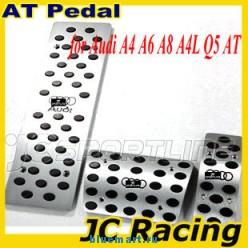 Набор автомобильных накладок на педали для Audi A4, A6, A8, A4L, Q5, алюминиевый сплав