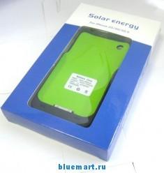 Зарядное устройство на солнечной батарее для iPhone 3G/3GS