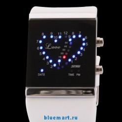 R282K - Светодиодные цифровые наручные часы