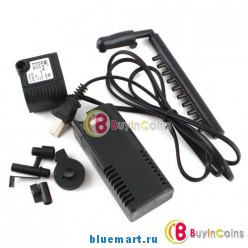 Аквариумный фильтр-компрессор, мощностью 300л/час
