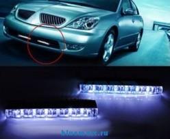 Универсальные ходовые огни для автомобиля (889)