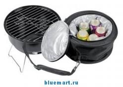 Настольный гриль-барбекю с сумкой-холодильником