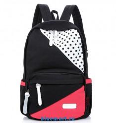Рюкзак женский с декоративными вставками, 10 цветов на выбор