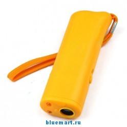 Ультразвуковой отпугиватель собак + тренажер + фонарик