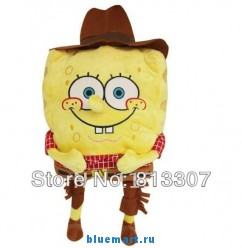 Мягкая игрушка Губка Боб квадратные штаны