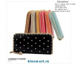 Кожаный женский кошелёк