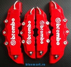 Brembo накладки на передние и задние тормозные барабаны, 4шт
