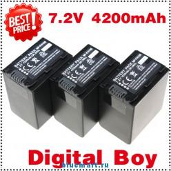 NP-FH100 - 3 аккумулятора Li-ion для Sony DCR-HC65 DCR-DVD755E DCR-DVD106