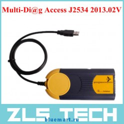 J2534 Pass-Thru - универсальный диагностический инструмент для использования с компьютером, версия 2013.02V