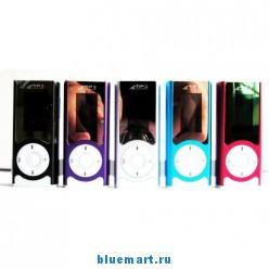 MP3 плеер, 2 ГБ, защелка, встроенный динамик, поддержка карт Micro SD, USB, наушники