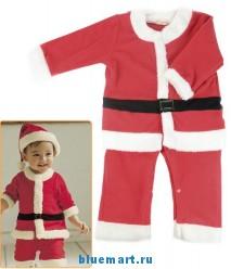 Детский карнавальный костюм Санта Клауса