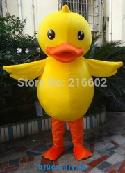 Ростовая кукла желтый утенок