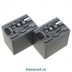 NP-FP90 - 2 аккумулятор Li-ion для Sony FP60 FP70 FP90 HC20E/HC21E/HC30E