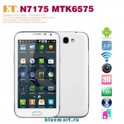 ET N7175 - Смартфон, Android 4.1, MTK6575 1.0GHz, Dual SIM, 5.3
